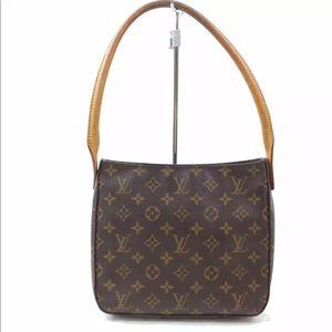 Authentic Louis Vuitton Looping MM Shoulder Bag